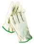 Radnor® Medium Natural Standard Grain Cowhide Unlined Drivers Gloves