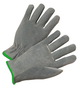 RADNOR® Medium Gray Standard Split Cowhide Unlined Drivers Gloves