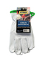 Radnor® Medium Goatskin Unlined Drivers Gloves With Keystone Thumb, Slip-On Cuff And Green Hem (Carded)
