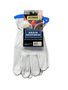 Radnor® X-Large Premium Top Grain Goatskin Unlined Drivers Gloves With Keystone Thumb, Slip-On Cuff And Blue Hem (Carded)