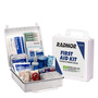 RADNOR® White Plastic Portable Or Wall Mounted 50 Person First Aid Kit