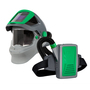 RPB® Z4® Medium Lightweight Welding/Grinding Powered Air Purifying Respirator Kit With Zytec® FR Shoulder Cape, Breathing Tube, And Lithium Ion Rechargeable Battery