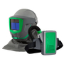 RPB® Z-Link+® Medium Multi-Purpose Heavy Industry Powered Air Purifying Respirator Kit With Weld Visor, Zytec® FR Shoulder Cape, Breathing Tube, And Lithium Ion Rechargeable Battery (Magnifying Lens Sold Separately)