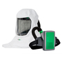 RPB® T-Link® Medium Painting/Healthcare Powered Air Purifying Respirator Kit With Tychem® 2000 Hood, Breathing Tube, And Lithium Ion Rechargeable Battery (Hard Hat Sold Seperately)