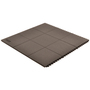 Superior Manufacturing 3' X 3' Black Nitrile Rubber Notrax® Fire Resistant Anti-Fatigue Floor Mat