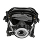 3M™ Scott™ Large AV-2000 Series Full Face Air Purifying Respirator With Polyster Headnet (Facepiece Adapter and Cartridge Sold Separately)