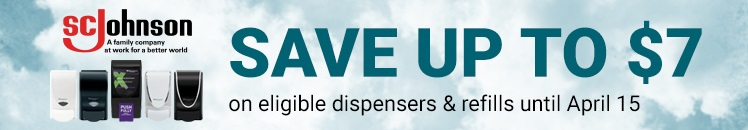 SCJohnson SAVE UP TO $7 on eligible dispensers & refills below until April 15