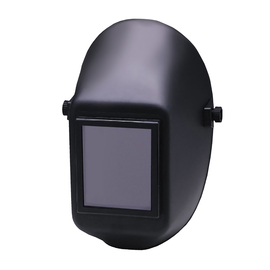 "Jackson Safety® Huntsman® 951P Black Thermoplastic Fixed Front Welding Helmet With 4.5"" X 5.25"" Shade 10 Lens"