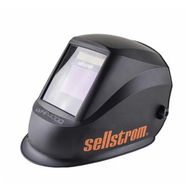 Sellstrom® Premium Series S26400 Black Welding Helmet With 4 1/2