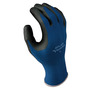 SHOWA® Size 7 13 Gauge Foam Nitrile Palm Coated Work Gloves With Seamless Knit Liner And Knit Wrist