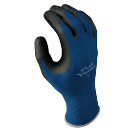 SHOWA® Size 9 13 Gauge Black Foam Nitrile Work Gloves With Seamless Knit Liner And Knit Wrist