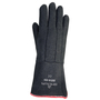 "SHOWA® 8814 Size 10 14"" Black Non-Woven Heat Resistant Gloves With Gauntlet/Slip-On Cuff And Insulated Lining"