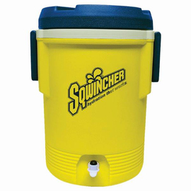 Sqwincher® 5 Gallon Yellow And Blue Cooler