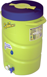 Sqwincher® 7 Gallon Green And Blue Double Cooler