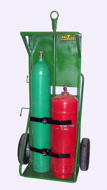 Saf-T-Cart Dual Cylinder Cart With 16