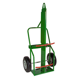 Sumner Manufacturing Company 1 Cylinder Cart With Pneumatic Wheels And Curved Handle