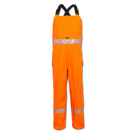 National Safety Apparel Medium Fluorescent Orange GORE-TEX® PYRAD® Foul Weather Flame Resistant Bib With Buckle Closure