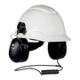 3M™ Peltor™ HT Series™ Black Hard Hat Mount Headset