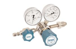 Airgas® Model N245D580 High Purity Brass Two Stage Gas Regulator, CGA-580