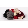 Y-pers Reclaimed Colored Sweatshirt Rags (25 Pounds Per Case)