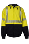 National Safety Apparel® X-Large Fluorescent Yellow And Navy VIZABLE® FR 10.5 oz. Modacrylic/Cotton/Fleece 20 cal/cm² Sweatshirt