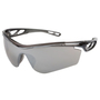 MCR Safety Checklite® CL4 Smoke Safety Glasses With Silver Duramass® Anti-Scratch/Mirror Lens